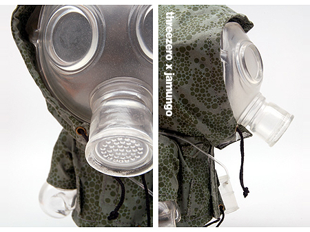 "graffiti characters gas mask. ""The invisible mask BUD is a"