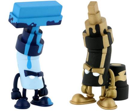 MAD Bentworld Vandals :  toys vinyl toys mad vandals